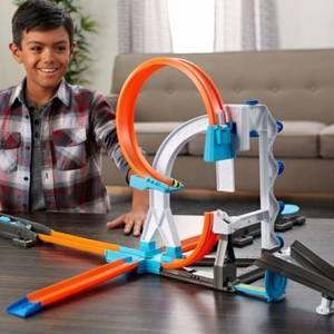 Трек Hot Wheels Builder Stunt Kit Playset DLF28
