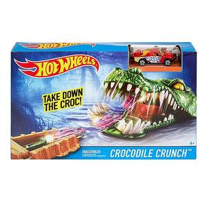 Игровой набор Hot Wheels Crocodile Crunch DWK94/1