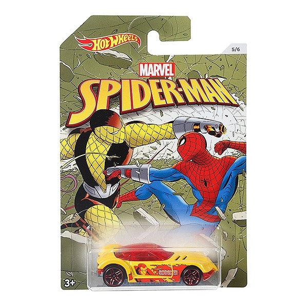 "Автомобиль базовый Hot Wheels ""Marvel. Человек Паук"" DWD14 (в ассортименте)"