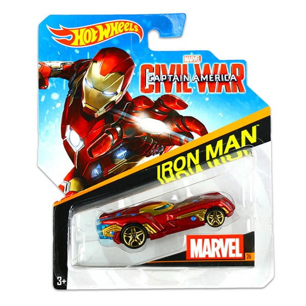 Автомобиль базовый Hot Wheels Marvel BDM71 (в ассортименте)