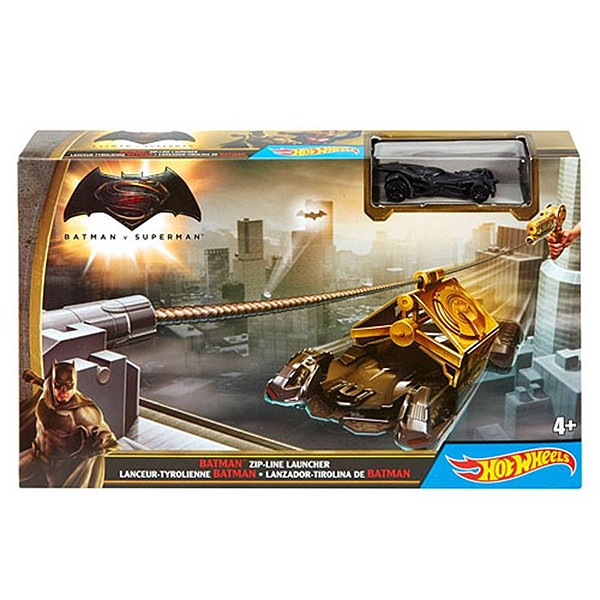 Трек Hot Wheels Batman vs Superman Спасти Готэм-Сити DPL87-1