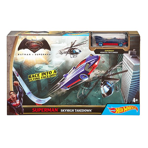 Трек Hot Wheels Спасти Готэм-Сити Batman vs Superman DPL87/2
